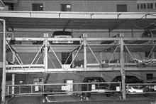 回收机械立体双层车库