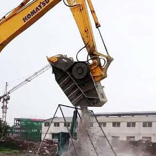 挖机破碎斗挖掘机碎石属具