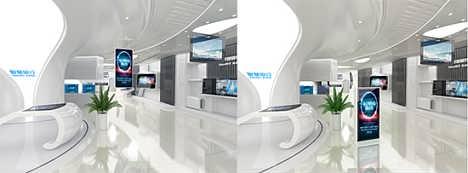 银行网点橱窗智能信息发布宣传-北京天驰融盛科技有限公司