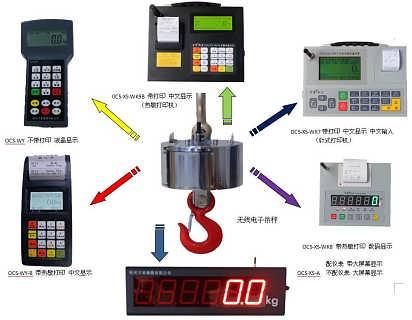 30吨无线中文仪表多功能组合电子吊秤-杭州万准衡器有限公司