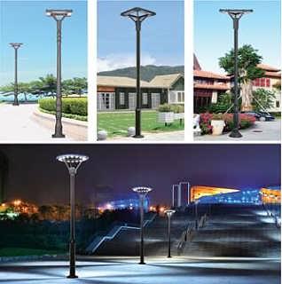 单杆单头LED庭院灯-合肥艺瑾照明科技有限公司