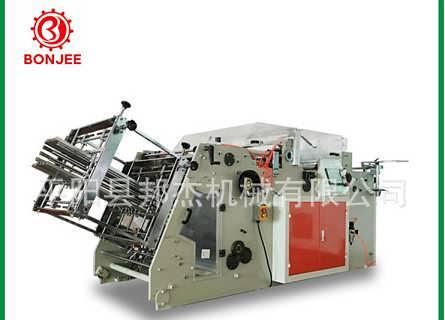 邦杰机械 高速汉堡盒成型机 立体纸盒糊盒机 餐饮打包盒成型机-平阳县邦杰机械有限公司.