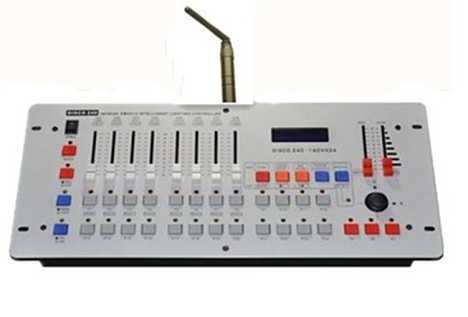 无线遥控DMX512控台-西安集联电子科技有限公司