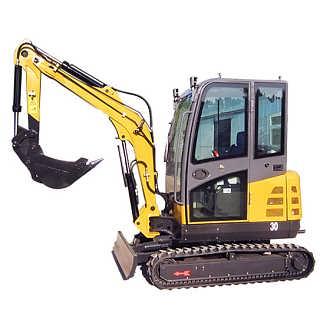 小型挖掘机价格 液压履带式农用挖机 绿化园林迷你沟机 厂家