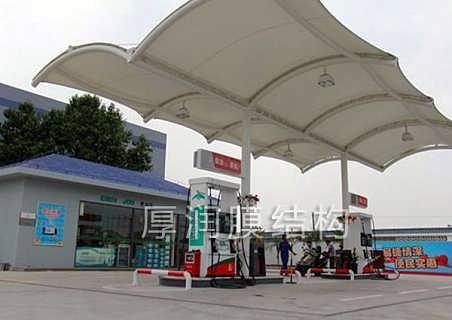 膜结构加油站建造价格
