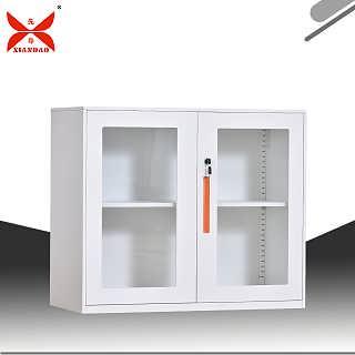 钢制办公室档案玻璃文件柜不等体文件柜-洛阳市先导办公家具有限公司.