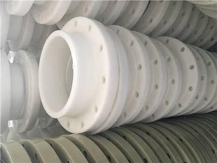 化工塑料FRPP玻纤增强聚丙烯带颈法兰------外径560 量大从优-江苏镇江长青塑料管业有限公司销售部