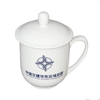 办公会议茶杯,商务礼品陶瓷茶杯订做加字-唐龙陶瓷有限公司