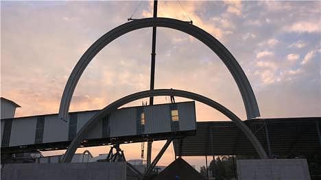 嘉兴储存仓库拱形屋面质量可靠-江苏杰达钢结构工程有限公司