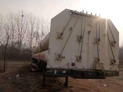二手CNG天然气槽车 旧CNG压缩天然气运输车价格