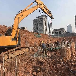 破桩机 液压圆形截桩机 方形桩机 广泛使用-济宁市�M磊商贸有限公司