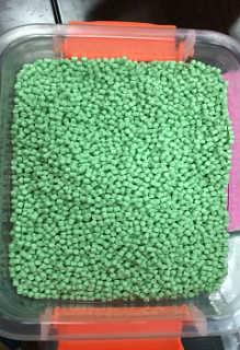 PVC-R50,草绿色电管塑胶原料-东莞市权友塑胶原料有限公司.