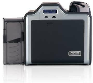Fargo法高HDP5000员工卡片制卡机