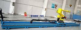 成都机器人行走轴 喷涂七轴机器人 库比克-库比克智能装备(深圳)有限公司成都分公司