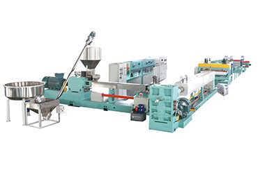 阻燃挤塑板生产线-山东通佳机械有限公司挤出部