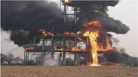 化工生产装置火灾事故处置训练区18153229503张经理-青岛凌鼎智能科技有限公司.