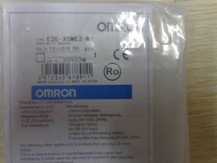E2E-X5ME2-M1欧姆龙OMRON接近传感器全新原装
