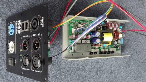 线阵音箱DSP有源功放模块8欧4x400W可全频可低音频点任设开关电源-天津开发区迪奥特数字技术开发有限公司