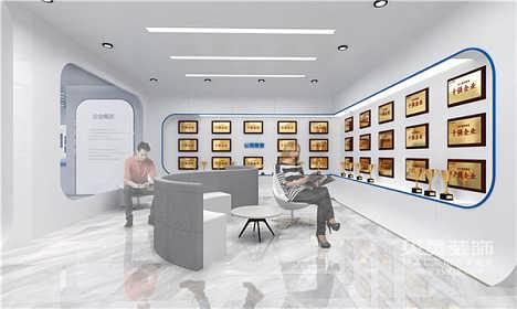 单位荣誉陈列室,荣誉展览室装修设计服务-贝美装饰(大连)有限公司.
