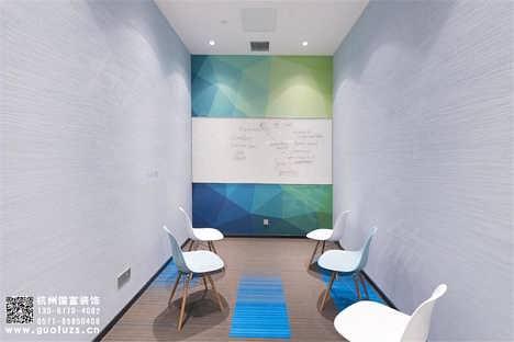 杭州西湖区300平方古韵艺术培训中心装修设计案例-国富装饰