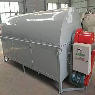 安徽省电加热滚筒小型豆腐渣烘干机烘干机出现烘干效果不理想的原因-郑州强农机械设备有限公司