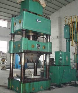 ms196明仕亚洲官网手机版二手1000吨小台面液压机