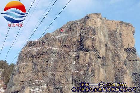主动加固SNS防护网,岩体山体防止风化落石