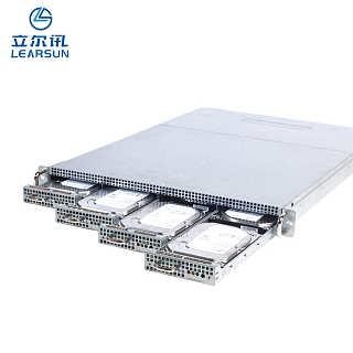 厂家直销 低功率、高存储的1U刀片服务器主机