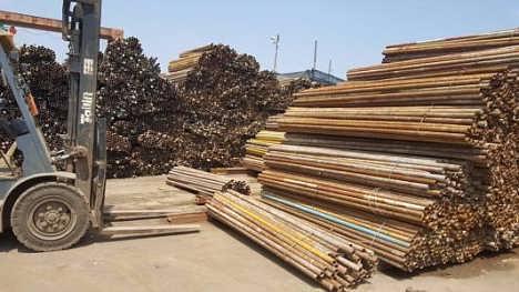 旧架子管回收 北京市大量收购二手钢材
