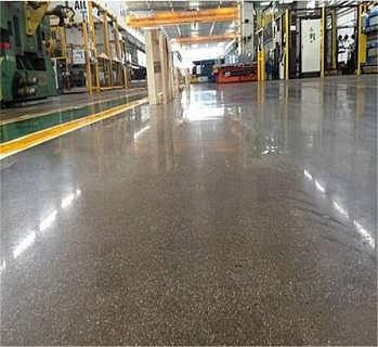 枣庄混凝土固化地坪 金刚砂耐磨地坪检测方法-潍坊亚斯特新型建材有限责任公司