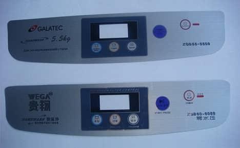薄膜按键开关面贴   PET薄膜面贴-福州尚宸电子科技有限公司