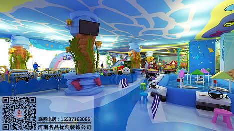 郑州游乐场装修设计公司选择,河南儿童乐园装修设计公司