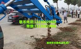 挖坑机型号/水泥杆钻眼机价格