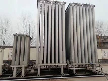 求购cng减压撬 空温式汽化器调压撬 10立方快易冷