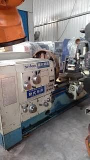 二手星火1.5米车床型号CW6185-温州迈欧克机电设备有限公司销售部