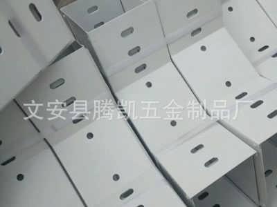 淮南梯级式喷塑电缆桥架使用寿命长久[腾凯]-文安县腾凯五金制品有限公司