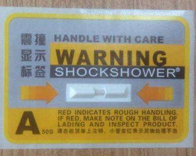 震动感应标签 SHOCKSENSOR