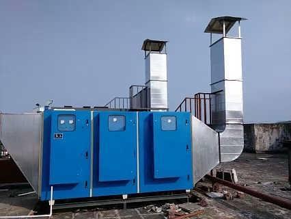江苏适合各种工件的喷漆房废气处理设备-山东新迈节能环保科技有限公司.