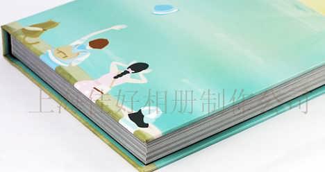上海晓东宝宝成长纪念册 个人写真集专业相册制作中心