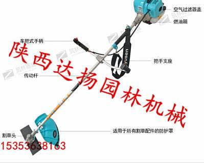 宇森松田CG430二冲程汽油割草机陕西达扬园林供应