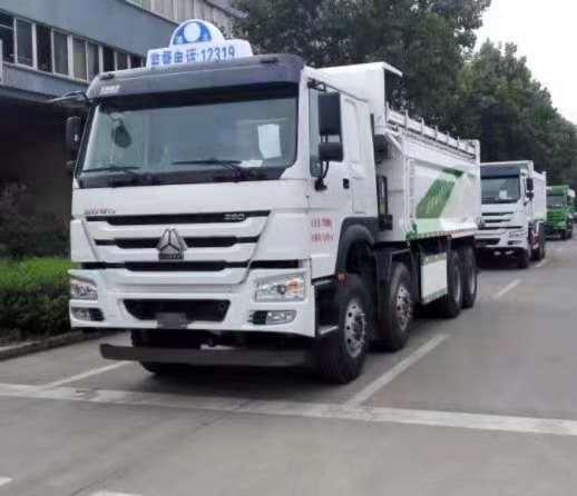 供应全国分期按揭销售豪沃渣土自卸车价格-济南新龙信汽车销售有限责任公司
