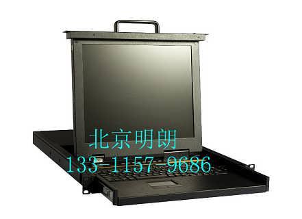 KVM切换器高清8口USB宽屏机架17寸-北京明朗鸿阳科技有限公司播音桌
