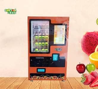果爱多自助售卖榨汁机 自动榨汁机加盟