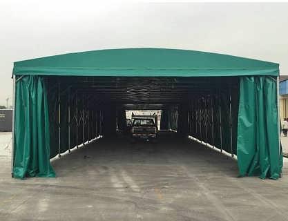 厂家直销可移动式推拉雨棚价格