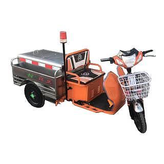 不锈钢电动垃圾车 物业小区垃圾车