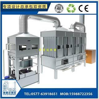 温州钢铁熔炼冶炼黑烟废气处理设备除烟神器