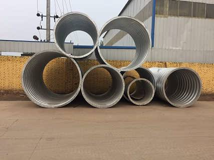 云南钢波纹涵管生产厂家施工 金属波纹涵管型号 排水