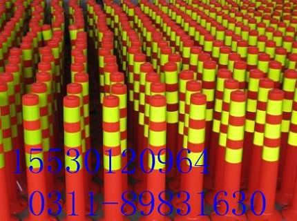 石家庄弹力柱生产厂家河北弹力柱13403311262河北石家庄弹力柱批发路障