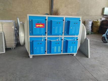 光氧设备废气净化器处理工业废气效果好光氧催化-泊头市金银财宝环保设备有限公司