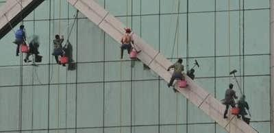 南京专业高空清洗 玻璃幕墙清洗 蜘蛛人 外墙打胶 地毯清洗